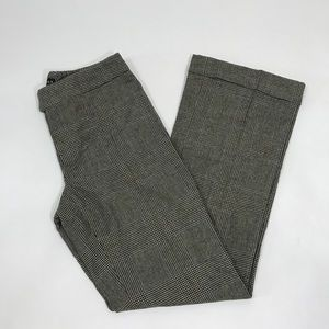 Ralph Lauren Black Label Plaid Print Dress pants